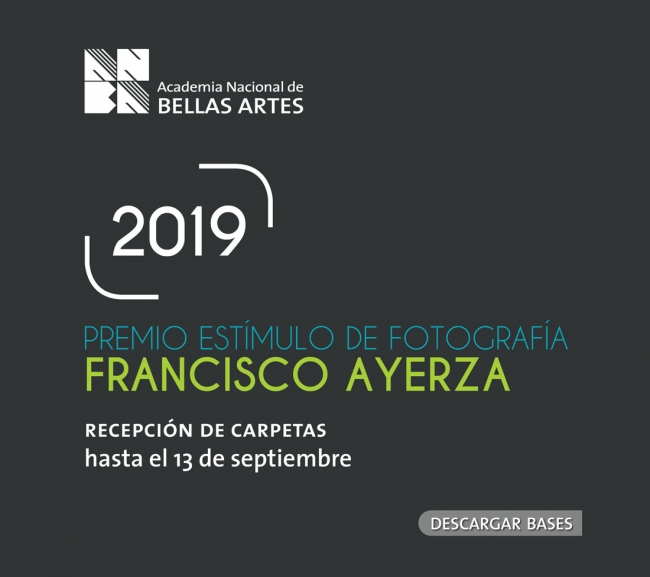 Premio Estímulo de Fotografía Francisco Ayerza 2019