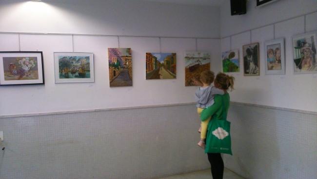 Imágenes de la exposición colectiva