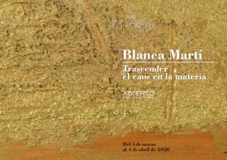 Blanca Martí, Trascender el caos