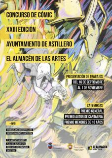 XXIII Concurso de Cómic Ayuntamiento de Astillero - El Almacén de las Artes