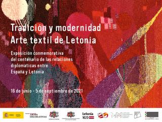 Museo de ArteTradición y modernidad - Arte textil de Letonias Decorativas