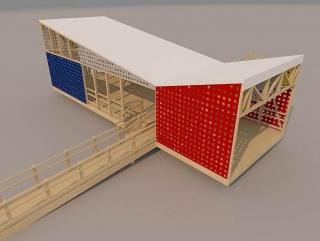 Rendering by architect Yoandy Rizo Fiallo, 2014