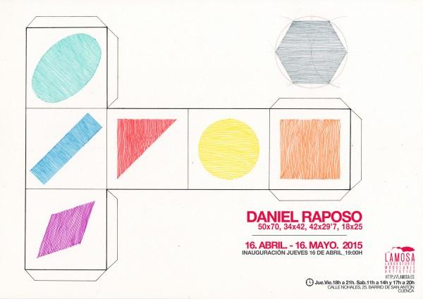 "\""50x70, 34x42, 42x29'7, 18x25\"" por DANIEL RAPOSO"