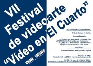 VII Festival de Videoarte Video en el Cuarto