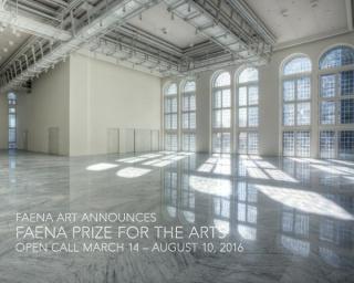 Premio Faena a las Artes 2016 - 2017