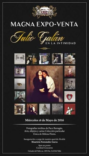 Julio Galan en la Intimidad