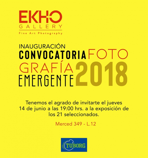Fotografía Emergente 2018