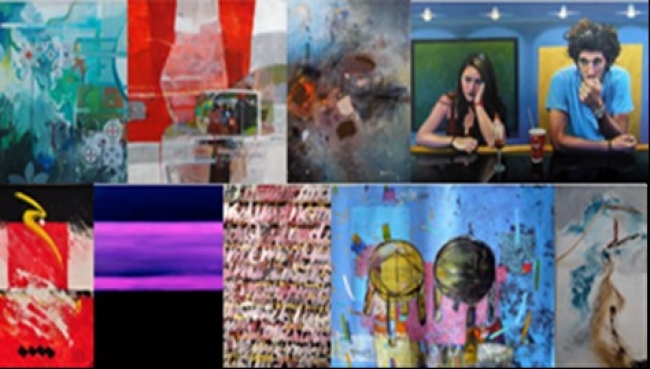 Collage de algunas de las obras que conforman la muestra — Cortesía de la Fundación Barceló