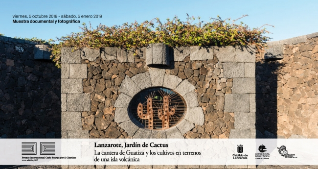 Lanzarote, jardín de cactus. La cantera de Guatiza y los cultivos en terrenos de una isla volcánica