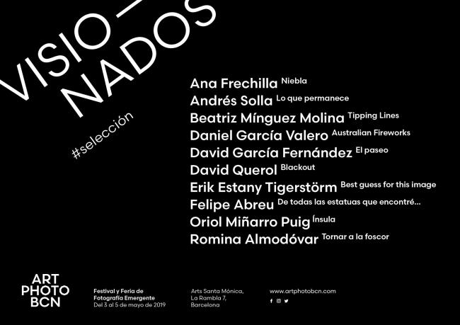 Visionados 2019 Art Photo Bcn
