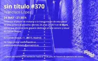 Francisco López, sin título #370