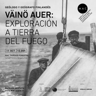 Väinö Auer: Exploración a Tierra del Fuego
