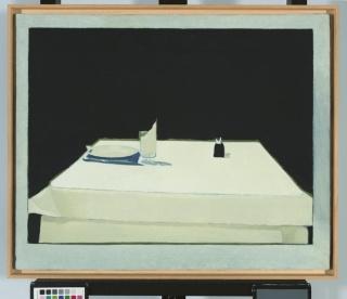 Isabel Baquedano, Mesa, 1979. Museo de Bellas Artes de Bilbao — Cortesía del Museo de Bellas Artes de Bilbao
