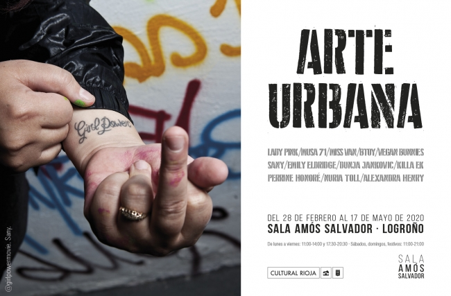 Arte urbana Sala Amos Logroño