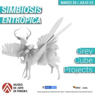 Simbiosis Entropica, imagen de la obra de Maria Angelica Madero