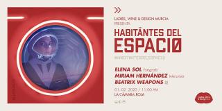 Cartel Habitantes del espacio