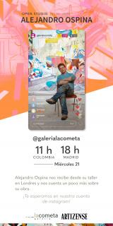 Open studio: Alejandro Ospina