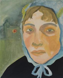 Paula Breuer. Babelsberg, 2021. Acrílico sobre lienzo, 31,5 x 40 cm. — Cortesía de galeria silvestre