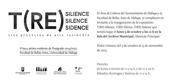 T(RE) Silience, T(RE) Silence, T(RE) Sidence