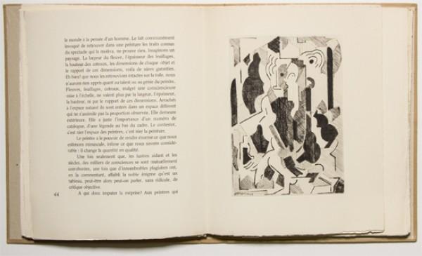 Albert Gleizes [Sin título, 1946]: Albert Gleizes y Jean Metzinger, Du cubisme. París: Compagnie Française des Arts Graphiques, 1947 © Vegap, Madrid, 2015