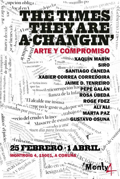 The Times They Are A-Changin´. Arte y Compromiso