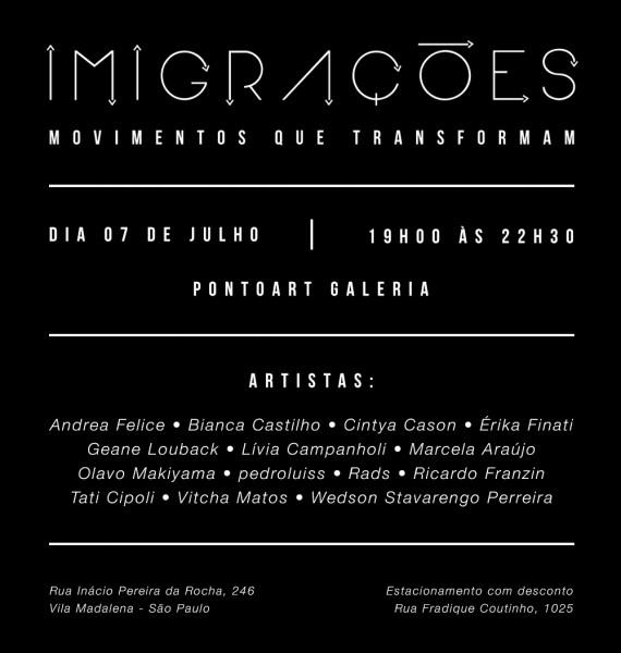 Imigrações – movimentos que transformam