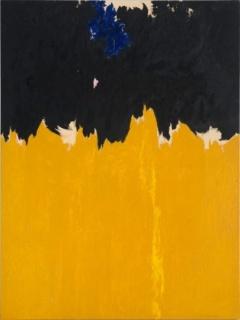 Clyfford Still, PH-950, 1950. Óleo sobre lienzo, 233,7 x 177,8 cm. Clyfford Still Museum, Denver. Cortesía Clyfford Still Museum, Denver, Colorado. © City and County of Denver, VEGAP, Bilbao, 2016