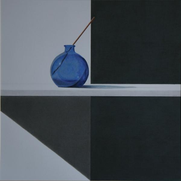 La botella azul