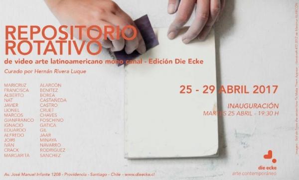 Repositorio rotativo de video arte latinoamericano mono canal – Edición Die Ecke