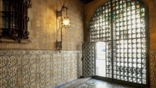 Baró de Quadras Palace, Barcelona. Fotografía © Ramon Manent – Cortesía del Museu del Disseny de Barcelona
