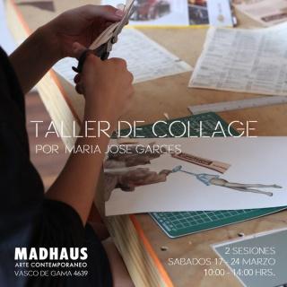 TALLER DE COLLAGE. Imagen cortesía Galería Madhaus