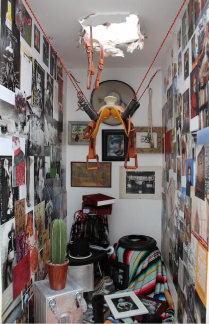 Melanio Zapata - The Day Pedro Infante Flew Into Space From His Apartment (Plagiarizing Ilya Kobakov Jalisco Style)