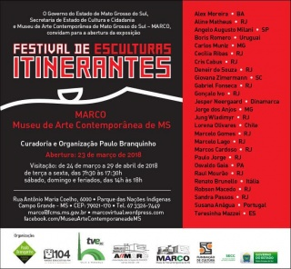 FESTIVAL DE ESCULTURAS ITINERANTES 2018