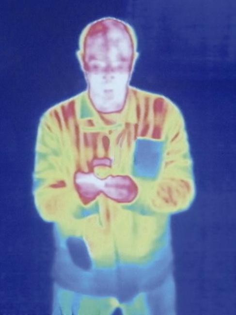 Fernando Sinaga, Radiación infrarroja, 2009 — Cortesía de la Galería Aural