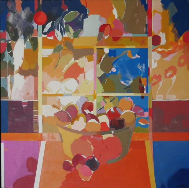 David Sancho, Colores de la India — Cortesía de la Galería Cristóbal Bejarano