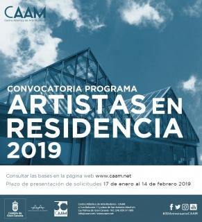 Programa Artistas en residencia 2019