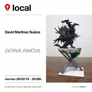 Deriva inmóvil - David Martínez Suárez
