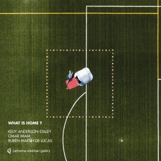 Flyer WHAT IS HOME?  _ work MINIMAL REPUBLIC 11 _ Ruben Martin de Lucas