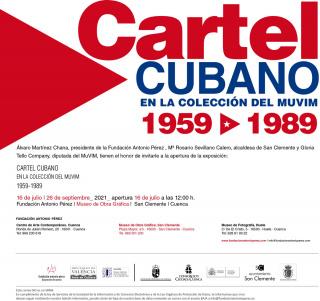 Cartel cubano en la colección del MuVIM. 1959-1989