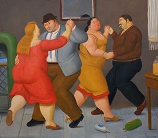 Fernando Botero, Dancers, 2013