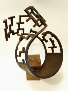 Manuel Fontiveros Sánchez. Laberintos XXIV (Obra ganadora) – Cortesía de la Associació Amics Ciutat de Granollers