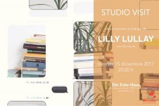 ENCUENTRO CON LILLY LULAY. Imagen cortesía Galería Die Ecke Arte Contemporáneo