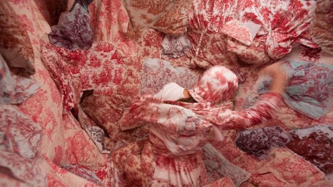 Fotograma de la serie Ocupa III, Rocío Gómez — Cortesía de Art Madrid