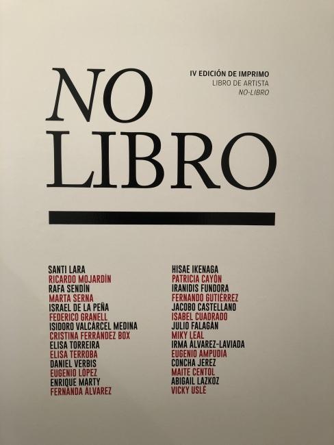 Libro de artista-no libro – Cortesía de Laura Gutiérrez