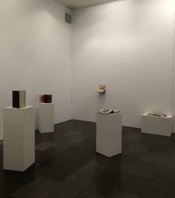Vista de la exposición – Cortesía de Laura Gutiérrez