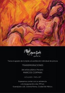 Transmigraciones. Imagen cortesía Aguarfuerte Galería