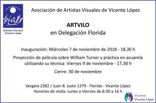 ARTVILO en Delegación Florida. Artistas Visuales de Vicente López