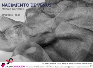 Manolo González. Nacimiento de Venus