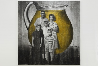 Juan José Gurrola, Familia Kool Aid (Kool Aid Family) from the series Dom-Art, c. 1966–1967. Photographic slide. Courtesy of the Fundación Gurrola A.C. and House of Gaga, Mexico City, Mexico, and Los Angeles, California.