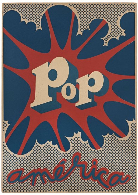 Hugo Rivera-Scott, Pop América, 1968. Collage on cardboard. Courtesy of the artist. © Hugo Rivera-Scott. Photo by Jorge Brantmayer.